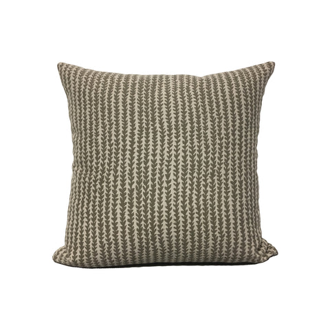 Gibson Smoke Throw Pillow 17x17""