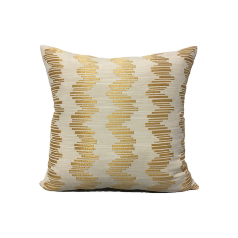 Gold Bars Throw Pillow 17x17""