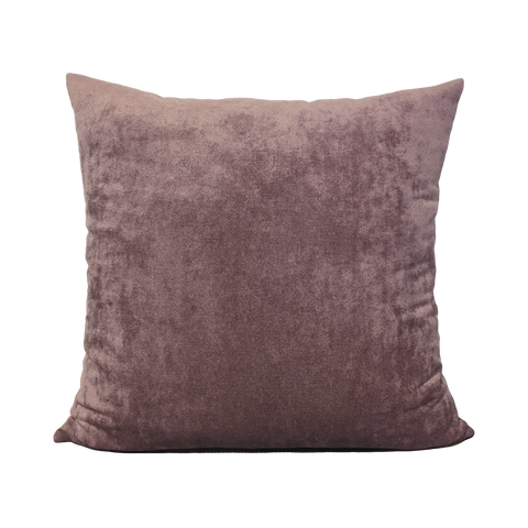 Grape Moss Chenille Throw Pillow 20x20""