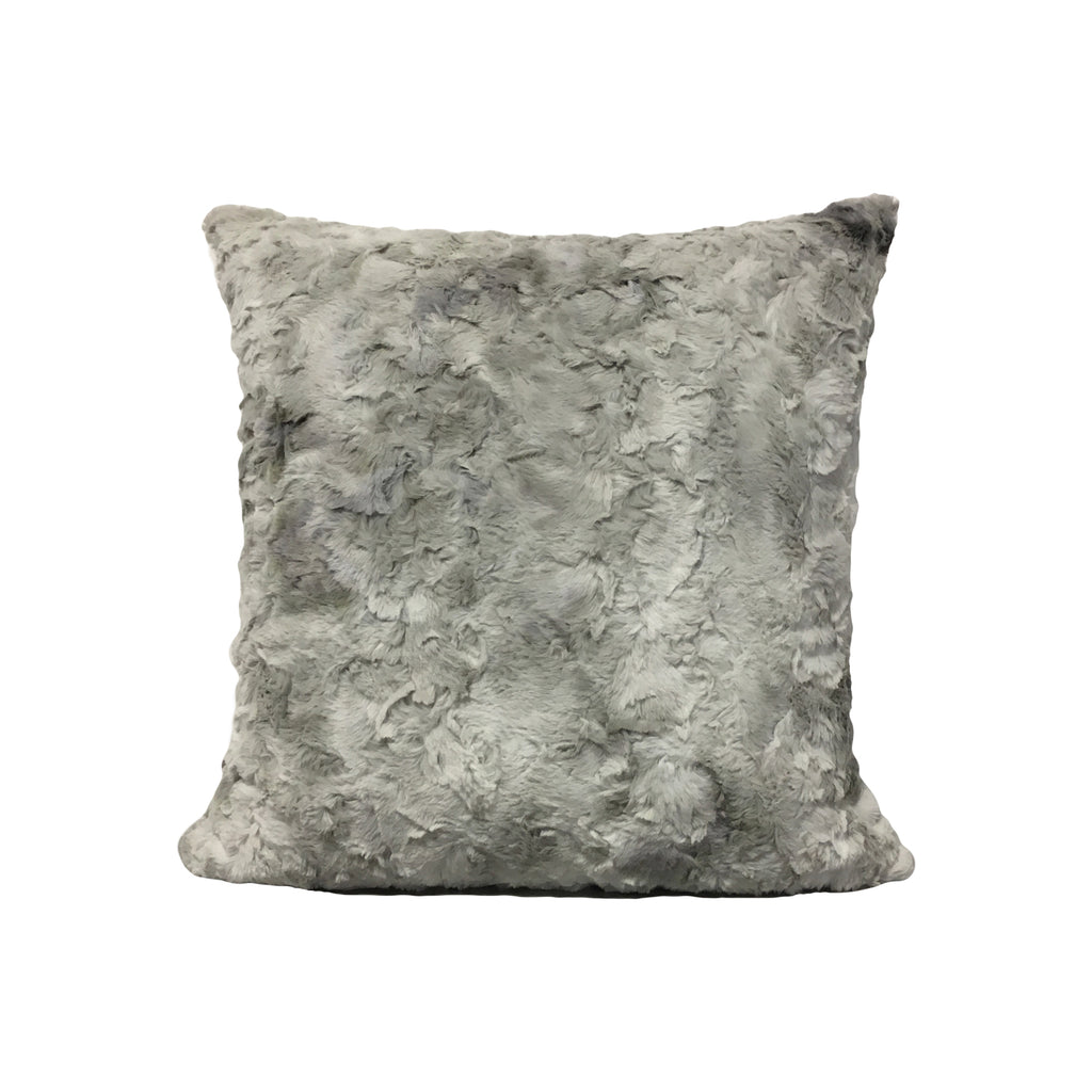 Grey Rabbit Throw Pillow 17x17""