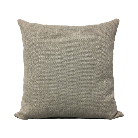 Harley Limestone Grey Throw Pillow 20x20""