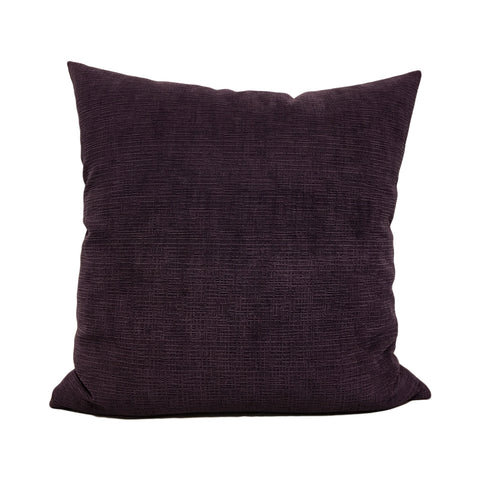 Heavenly Aubergine Throw Pillow 20x20""