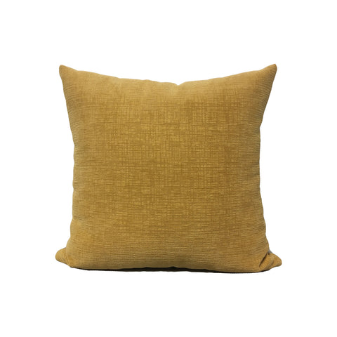 Heavenly Butter Yellow Throw Pillow 17x17""