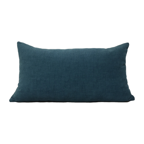 Heavenly Deep Sea Lumbar Pillow 12x22""
