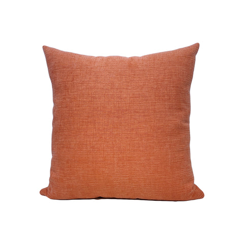 Heavenly Melon Orange Throw Pillow 17x17""