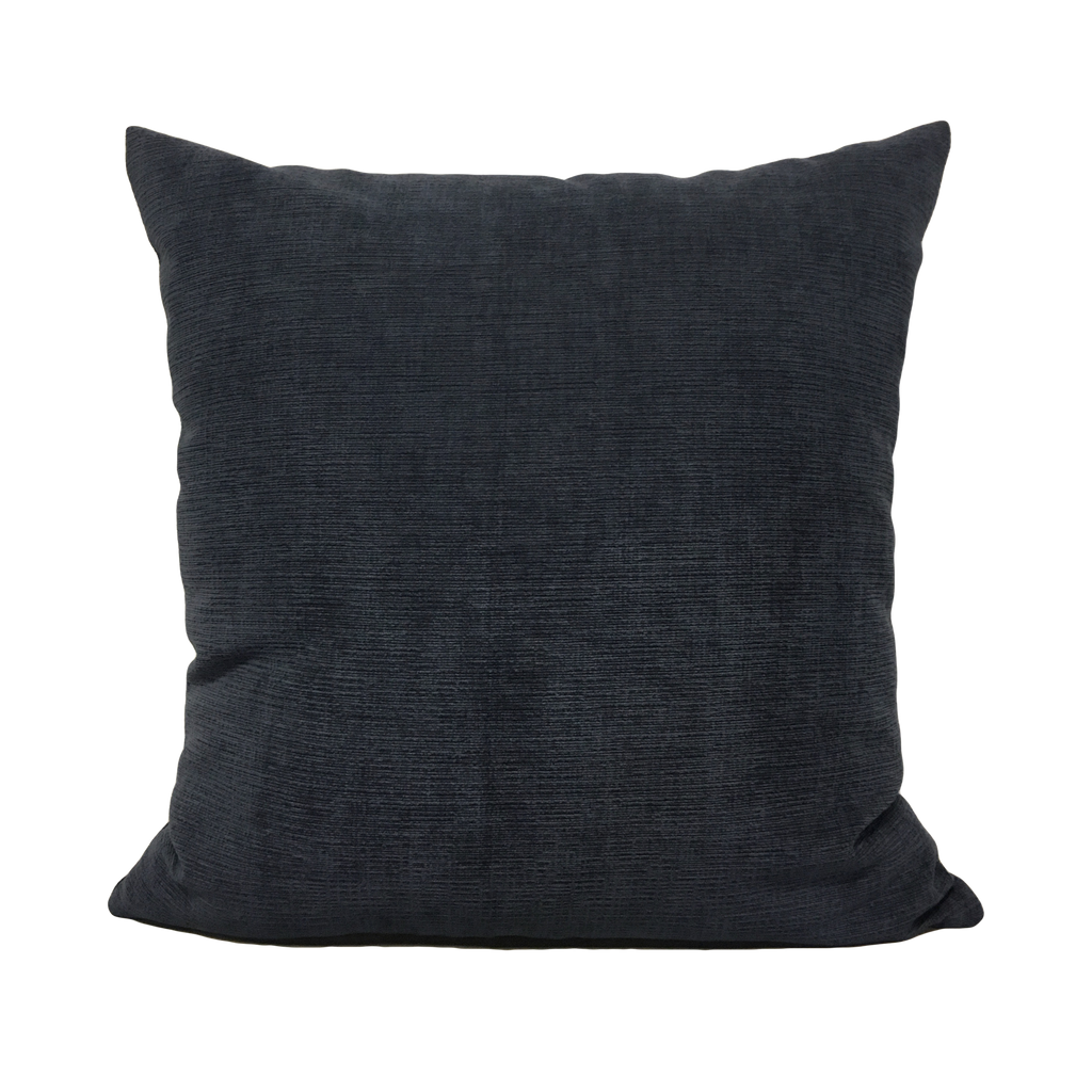 Heavenly Midnight Blue Throw Pillow 20x20""