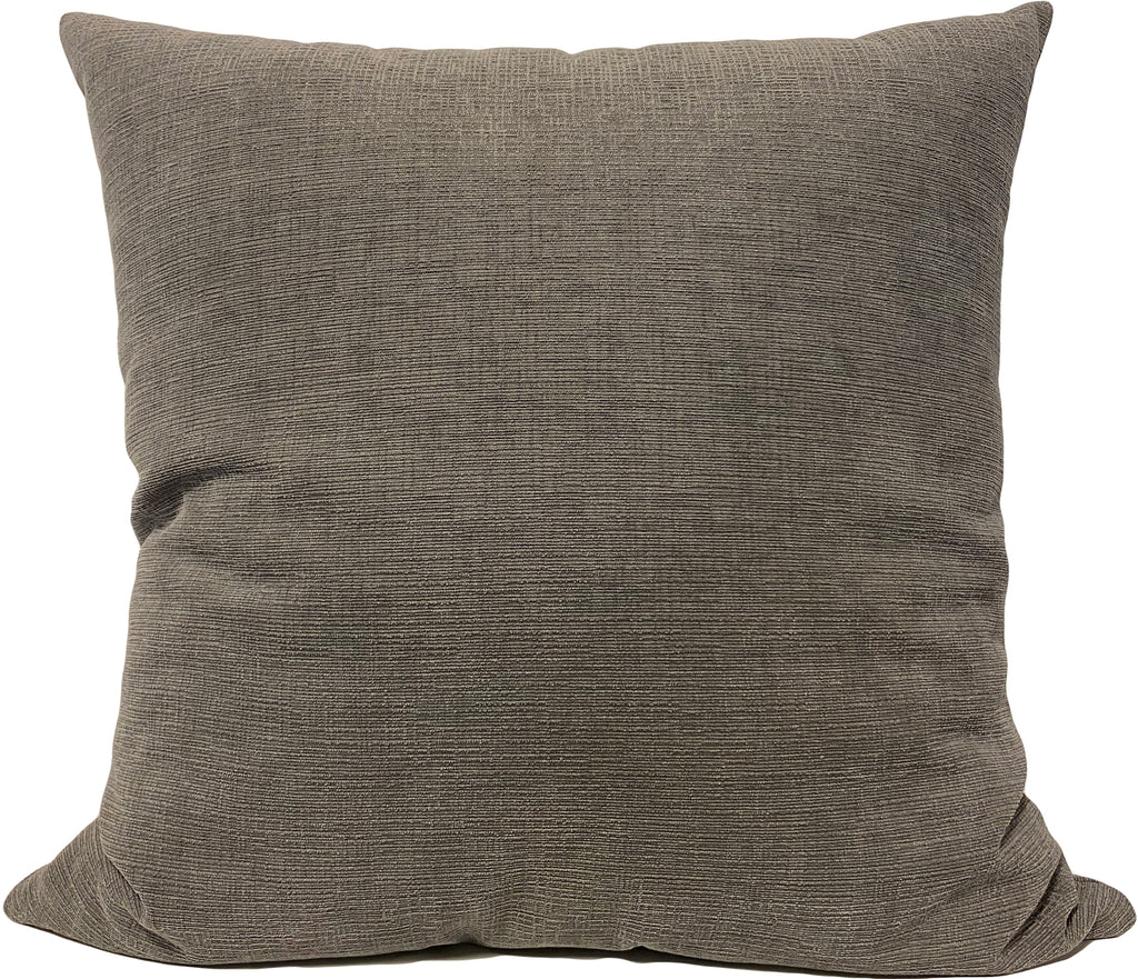 Heavenly Mineral Grey Euro Pillow 25x25""