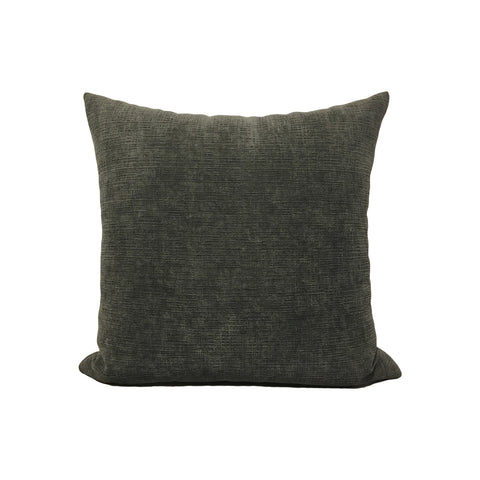 Heavenly Mocha Grey Throw Pillow 17x17""