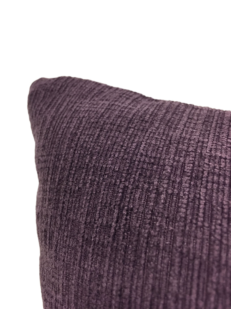 Heavenly Plum Lumbar Pillow 12x22""