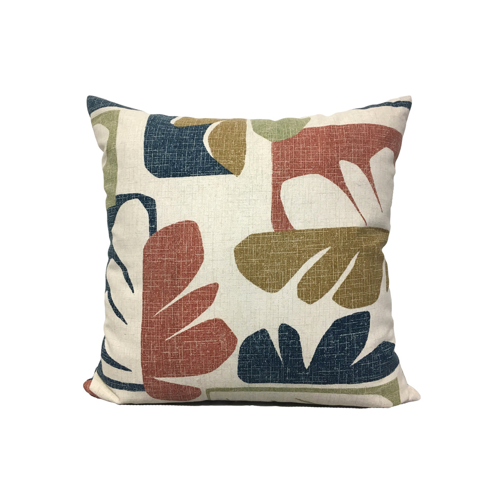 Henri Cabana Throw Pillow 17x17""