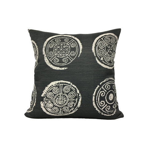 Homestead Medallion Throw Pillow 17x17""