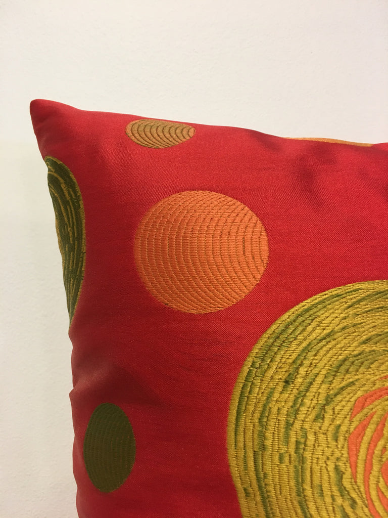 Cirque Throw Pillow 18x18""