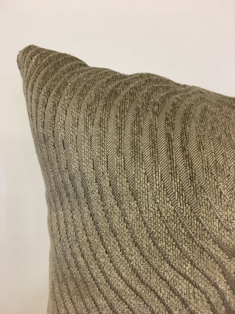Ripple Sands Throw Pillow 17x17""