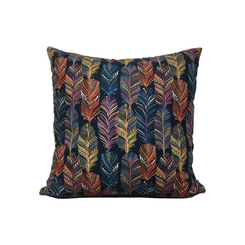 Indian Summer Throw Pillow 17x17""