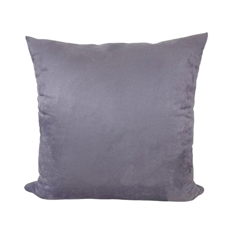 Infinity Lilac Suede Throw Pillow 20x20""