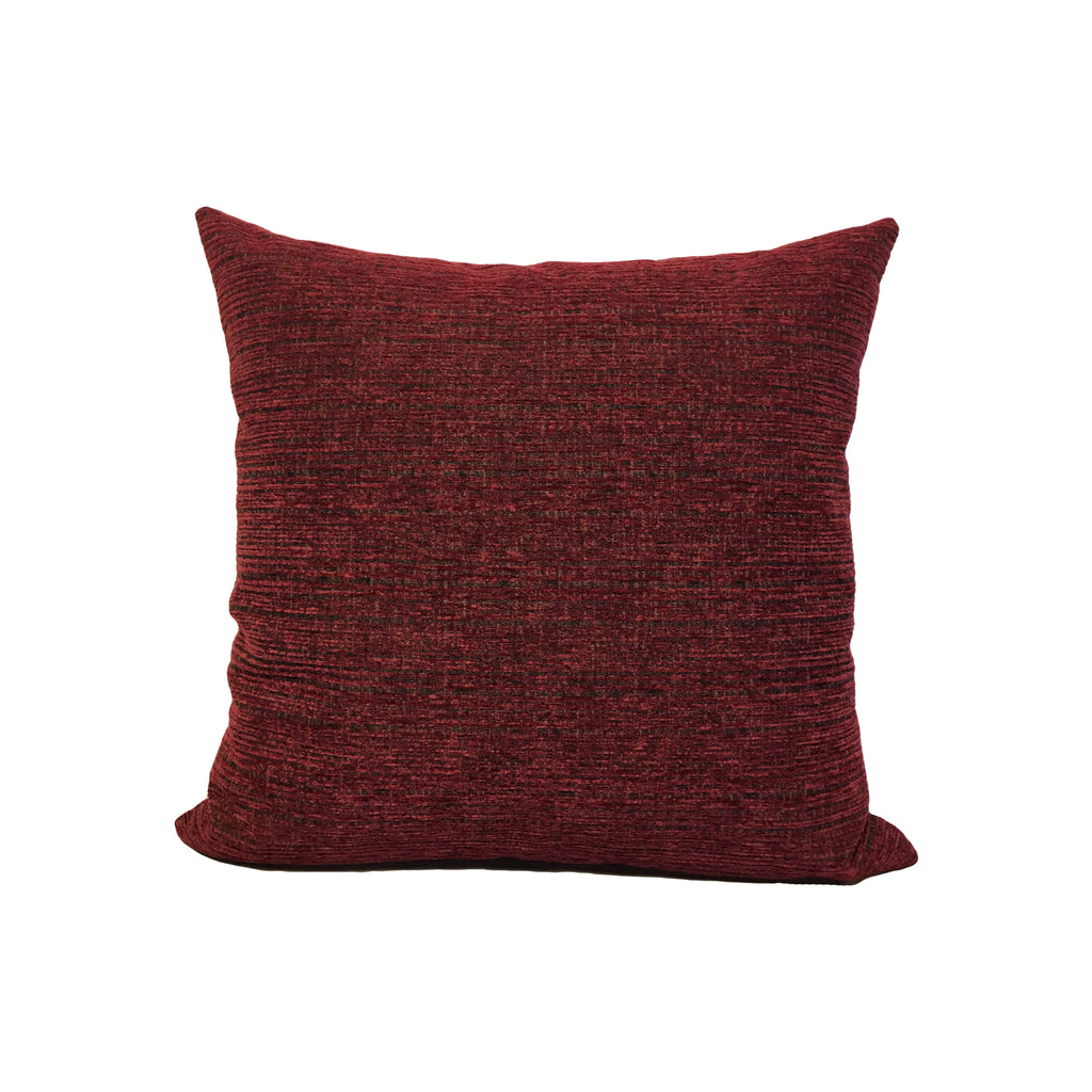 Jeffery Chili Throw Pillow 17x17""