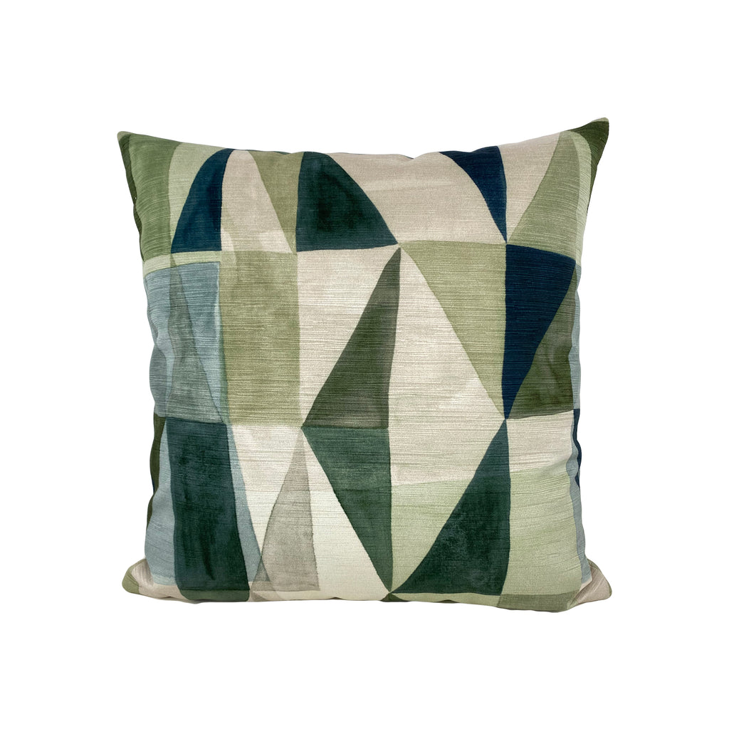Klee Sage Throw Pillow 17x17""