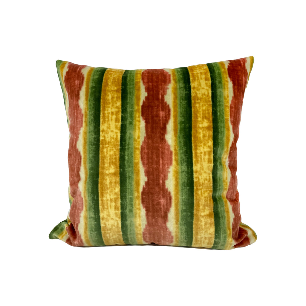 Kravet Velvet Throw Pillow 17x17""