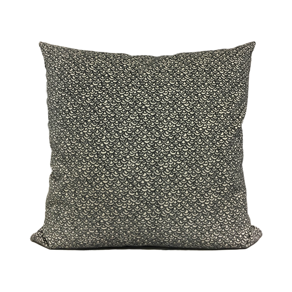 Laila Charcoal Throw Pillow 20x20""