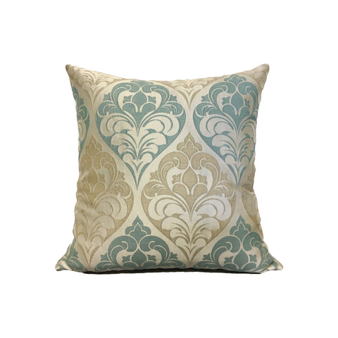 Lis Fleur Throw Pillow 17x17""