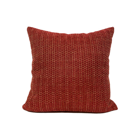 Logic Ruby Red Throw Pillow 17x17""