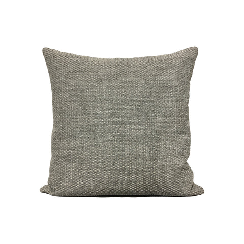 Louis Dim Grey Throw Pillow 17x17""