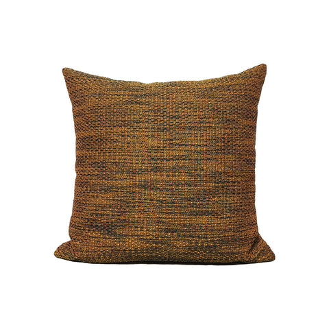 Louis Gold Twist Throw Pillow 17x17""