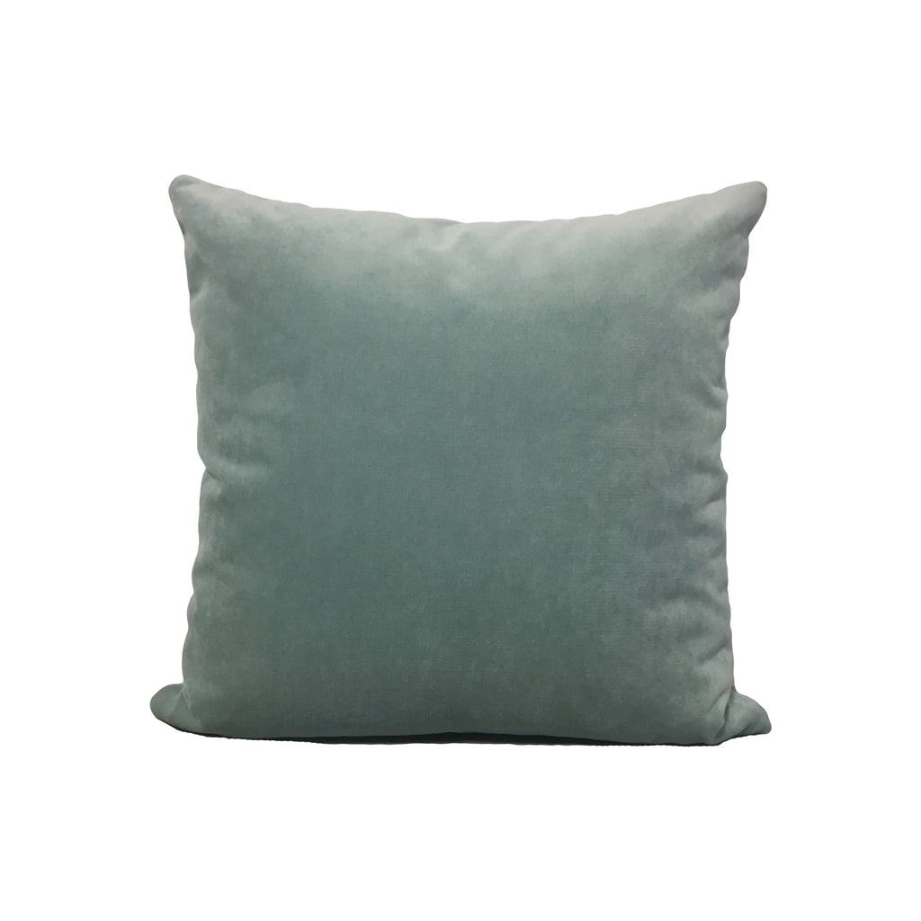 Luscious Velvet Water Throw Pillow 17x17""