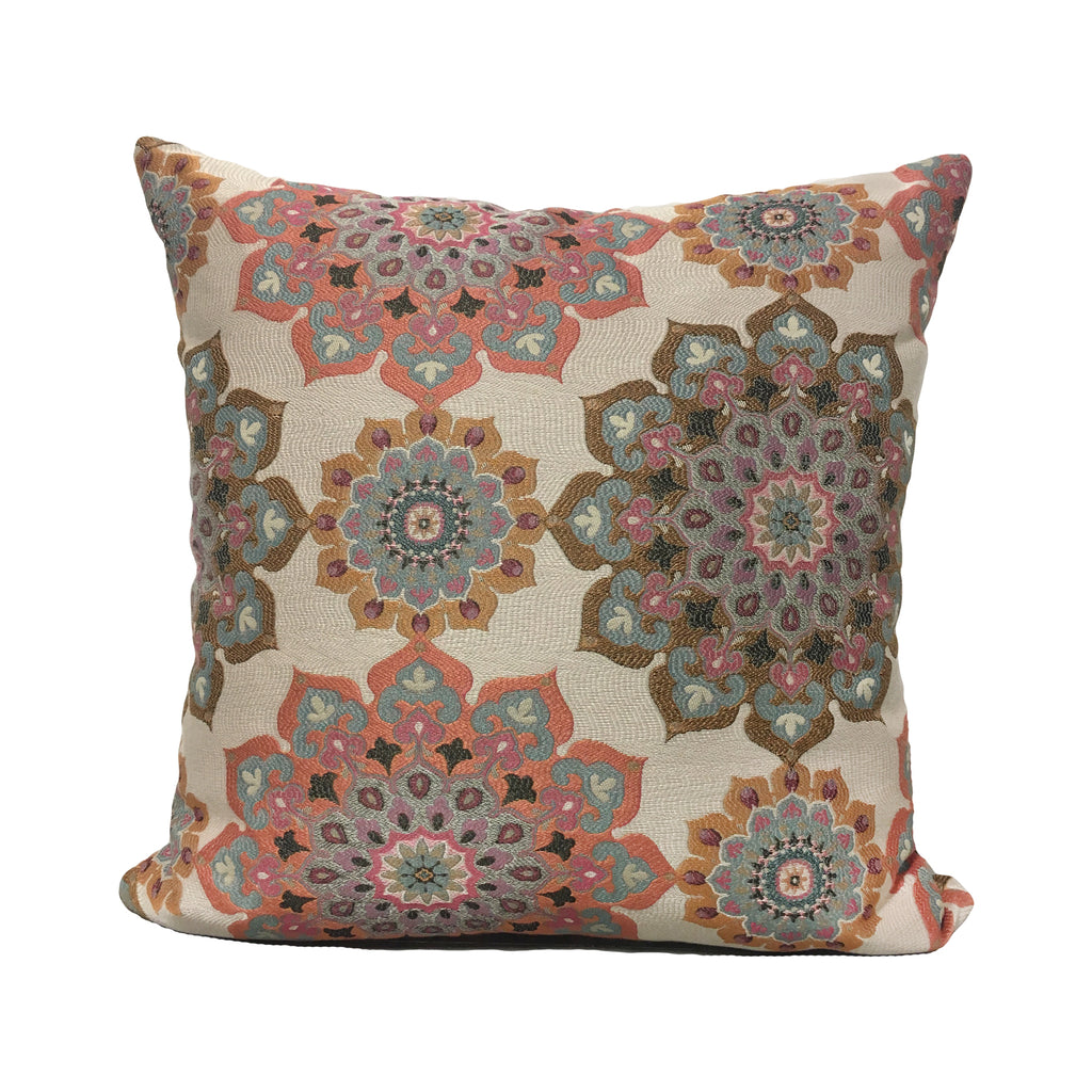 Majorica Sherbert Throw Pillow 20x20""