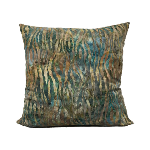 Marzipan Batik Throw Pillow 20x20""