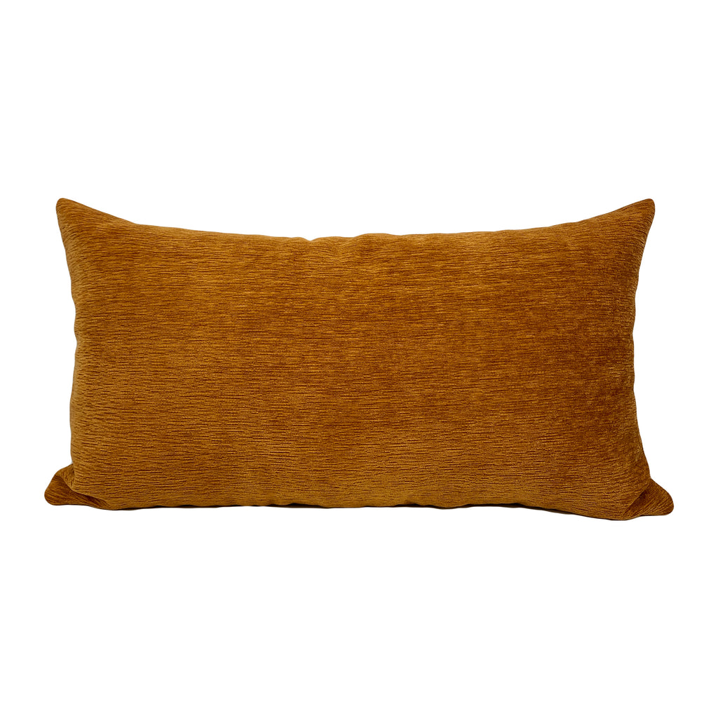 McCoy Copper Brown Lumbar Pillow 12x22""