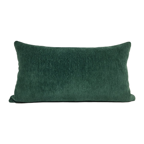 McCoy Emerald Green Lumbar Pillow 12x22""