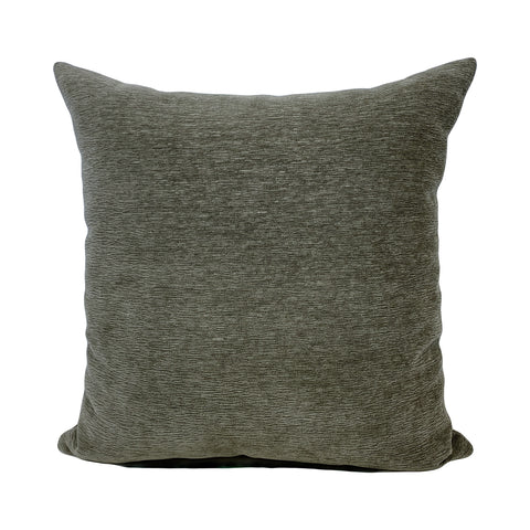 McCoy Mushroom Grey Throw Pillow 20x20""