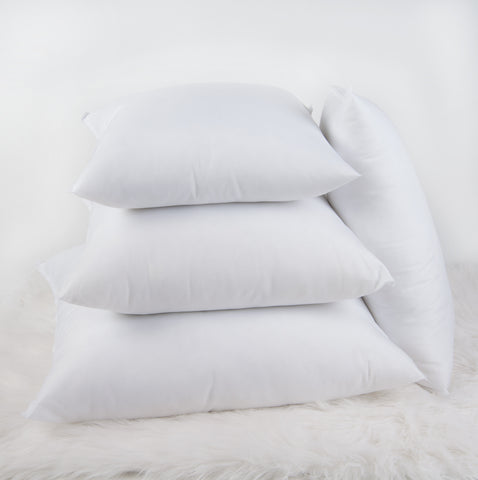 Microfiber Plush Pillow Inserts/Forms