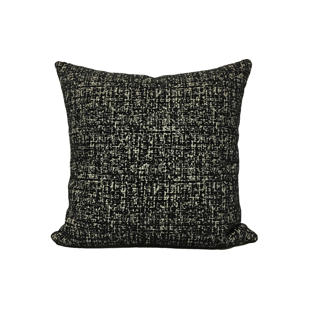 Montage Ebony Throw Pillow 17x17""