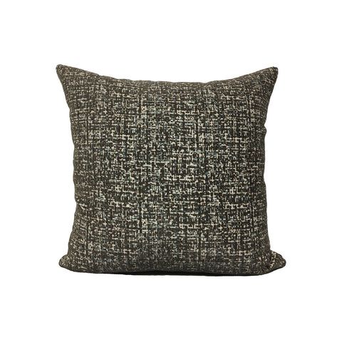 Montage Smoke Throw Pillow 17x17""
