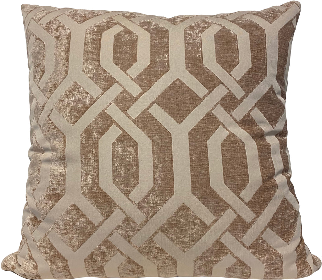 Monterey Gate Sand Euro Pillow 25x25""