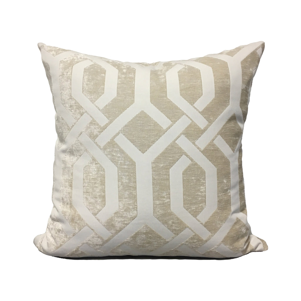 Monterey Gate Dove Throw Pillow 20x20""