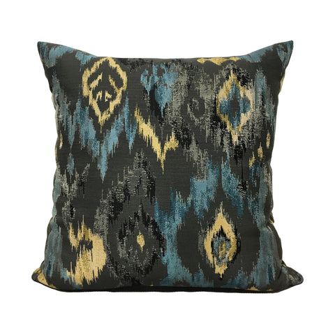 Morph Bedazzled Blue Throw Pillow 20x20""
