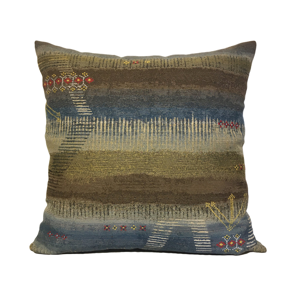 Navajo Manzanrio Dusk Throw Pillow 20x20""
