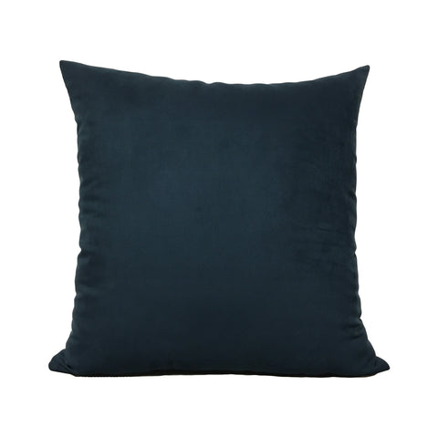Ocean Teal Suede Throw Pillow 20x20""