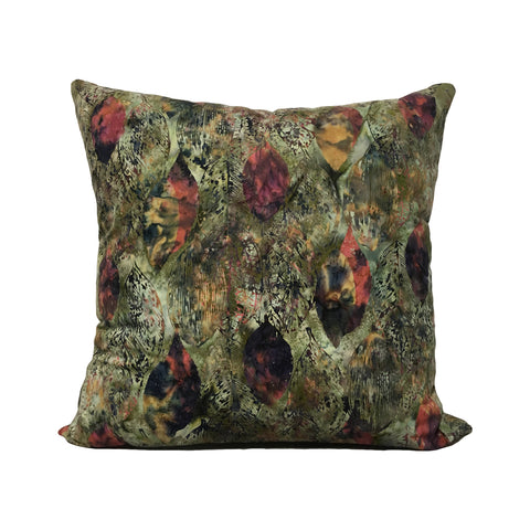 Ombre Trellis Batik Throw Pillow 20x20""