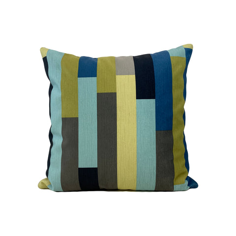On Track Baltic Throw Pillow 17x17""
