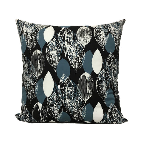 Orca Leaf Batik Throw Pillow 20x20""