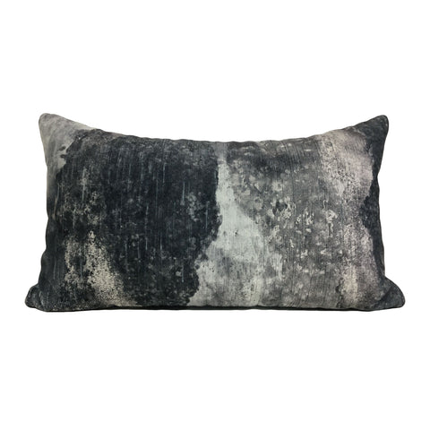 Panorama Storm Lumbar Pillow 12x22""