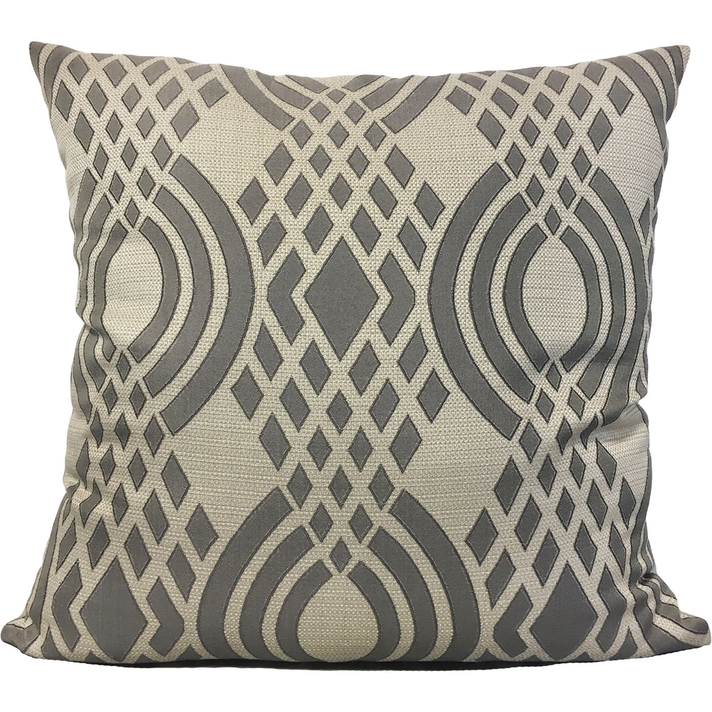 Parisian Lyon Basketweave Euro Pillow 25x25""