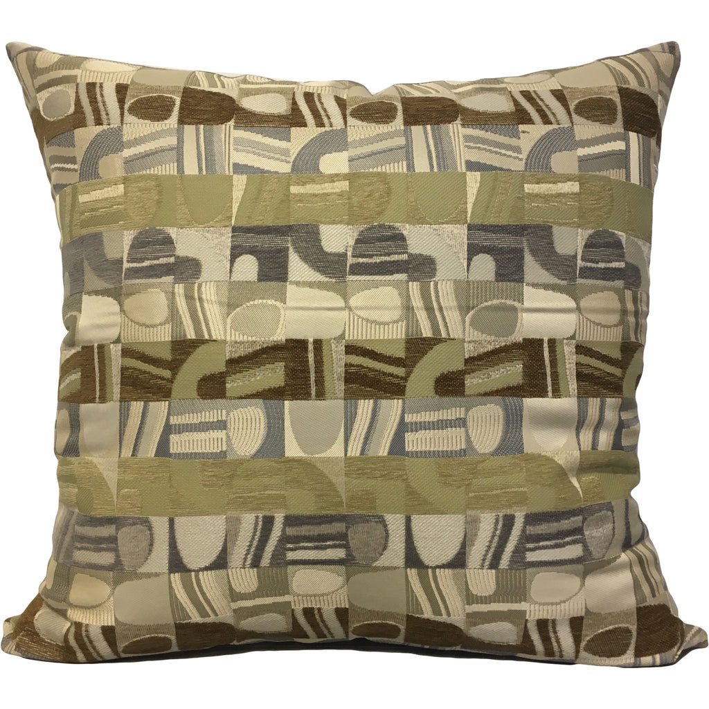 Picasso Chex Euro Pillow 25x25""