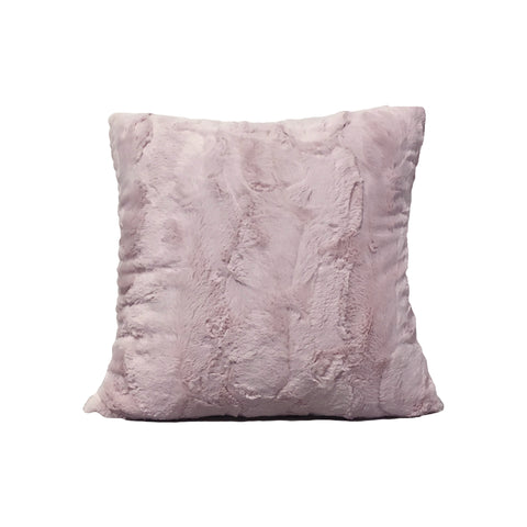 Pink Rabbit Throw Pillow 17x17""
