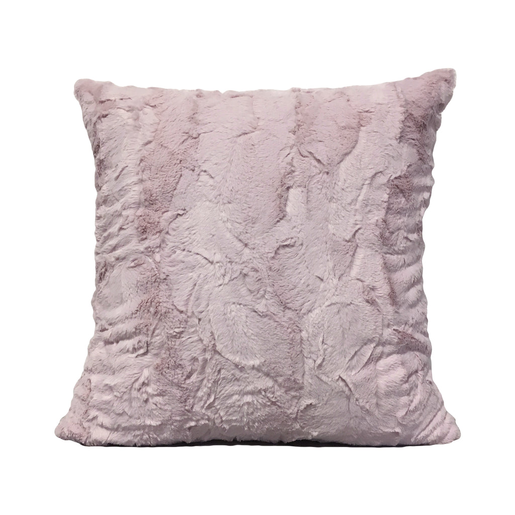 Pink Rabbit Throw Pillow 20x20""