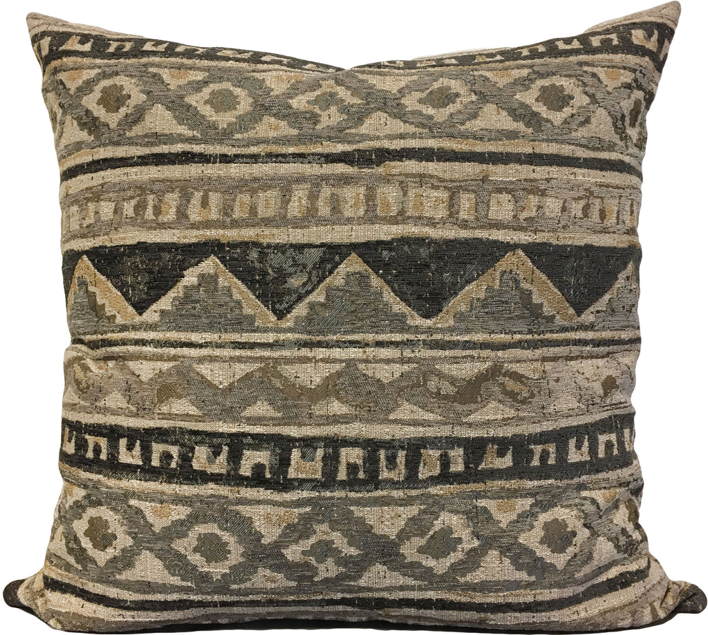 Plateau Grey Euro Pillow 25x25""